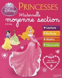 Cahiers d'exercices Princesses Disney - Maternelle Moyenne Section