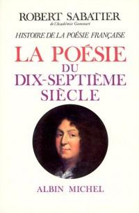 Histoire de la poésie française, volume 4 : La Poésie du XVIIe siècle