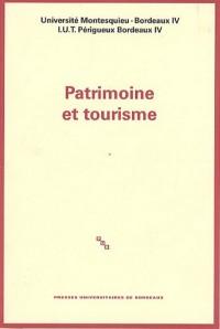 Patrimoine et tourisme