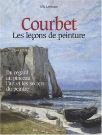 Courbet : Les leçons de peinture, la technique libre