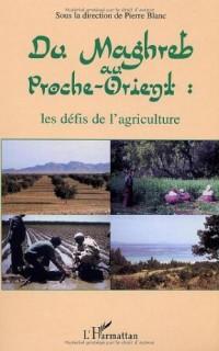 Du magreb au proche orient : les défis de l'agriculture