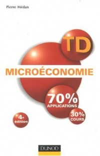Microéconomie : Travaux dirigés