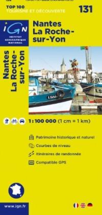 Top100131 Nantes/la-Roche-Sur-Yon  1/100.000