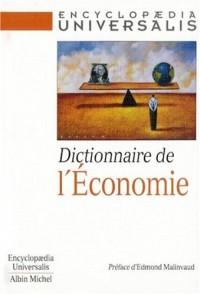Dictionnaire de l'Economie