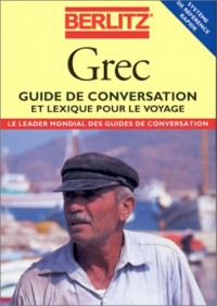 Berlitz Greek Phrase Book for French Speakers