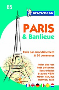Plan de Paris et Banlieue