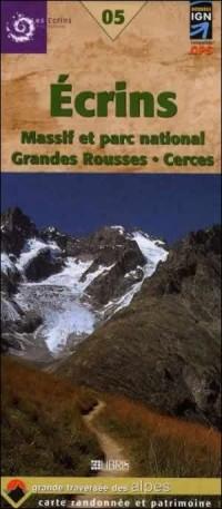Ecrins : Massif Parc national et Grandes Rousses, Cerces, Clarée