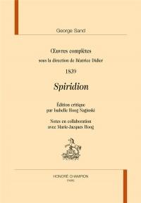 uvres complètes sous la direction de Béatrice Didier. 1839.
