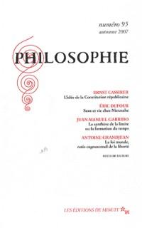 Philosophie, N° 95