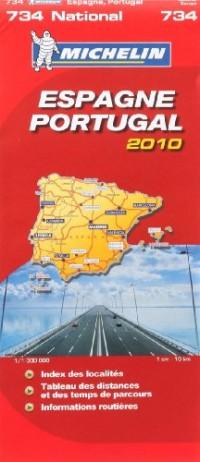 Espagne Portugal : 1/1 000 000