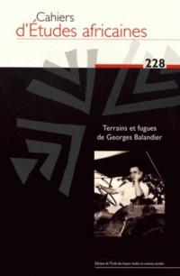 Cahiers d'Études Africaines 228