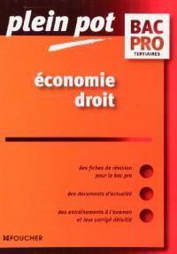 Economie Droit Bac Pro tertiaires