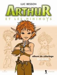 Arthur et les Minimoys - Coloriage Sélénia