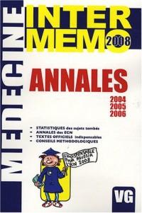 Annales 2004-2005-2006