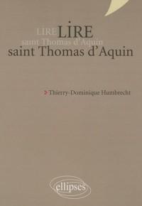 Lire Saint Thomas d'Aquin Nouvelle Edition