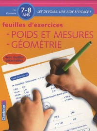 Feuilles d'exercices : Poids et mesures, Géométrie