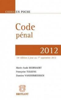 Code Penal 2012,14eme Edition