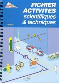 Fichier activites scientifiques et techniques