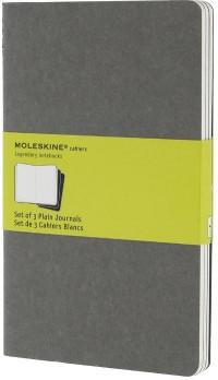 Cahier Gris Clair Gd Format Blanc Set de 3