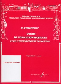 Cours de Formation Musicale pour l'Enseignement du Solfege Prep2