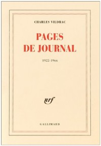 Pages de journal, 1922-1966