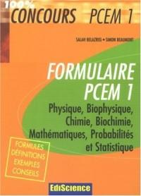 Formulaire PCEM1
