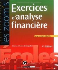 Exercices d'analyse financière : Avec corrigés détaillés