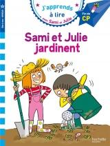 Sami et Julie CP Niveau 3 : Sami et Julie jardinent [Poche]