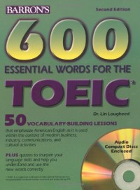 600 essential words for TOEIC Test : Test of English for International Communication (2CD audio)