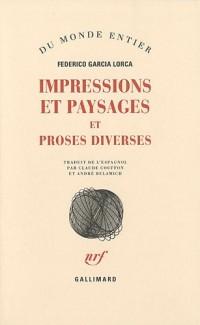 Impressions et paysages : Et proses diverses
