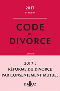 Code du divorce 2017
