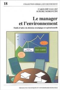 Le manager et l'environnement : Outils d'aide à la décision stratégique et opérationnelle