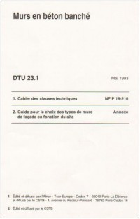 Dtu 23.1 Murs en Béton Banche