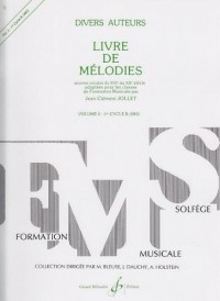 Livre de Mélodies Volume 2