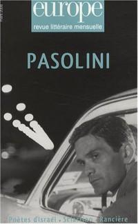 Europe, N° 947, mars 2008 : Pasolini