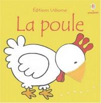 Poule (livre tissu)