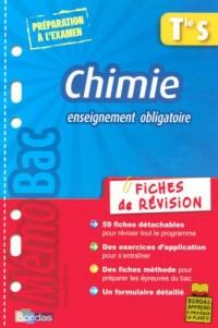 Chimie Tle S Enseignement obligatoire : Fiches de révision