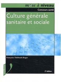 Culture générale sanitaire et sociale
