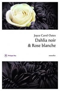 Dahlia noir et rose blanche