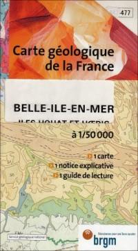 Carte géologique : Belle-Île-en-Mer