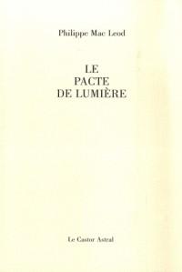 Le pacte de lumière
