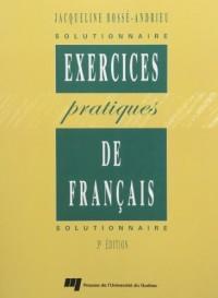 Exercices Pratiques de Style Solutionnaire