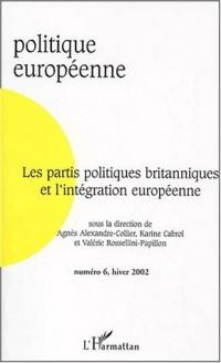 Partis politiques britanniques et l'integration europe