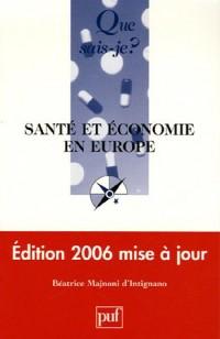 Santé et économie en Europe