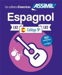 Cahier Exercices Espagnol 5e