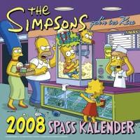 Simpsons Wandkalender 2008: SpaÃ? Kalender