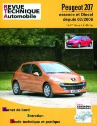 Rta B711.5 Peugeot 207 Es 1.6v/Diesel 1.6 Hdi