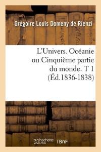 L Univers  Oceanie  T 1  ed 1836 1838