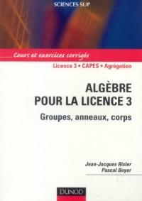 Algèbre pour la licence 3 : Groupes, anneaux, corps