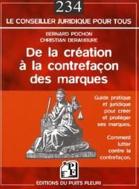 De la création à la contrefaçon des marques : En Droit français